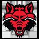 Red Wolves emblem